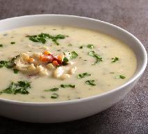 Zupa chrzanowa z menu beszamel