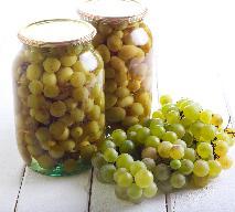Kompot z winogron ogrodowych: przetwory z winogron