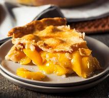 Peach pie: amerykański placek z brzoskwiniami