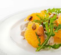 Sałatka pomarańczowa z kurczakiem