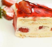 Sernik z truskawkami - doskonałe ciasto na lato