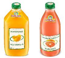 Soki Andros z najlepszych owoców - już w sklepach
