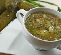 Zupa ogórkowa dla alergika (bez białek mleka krowiego): przepis