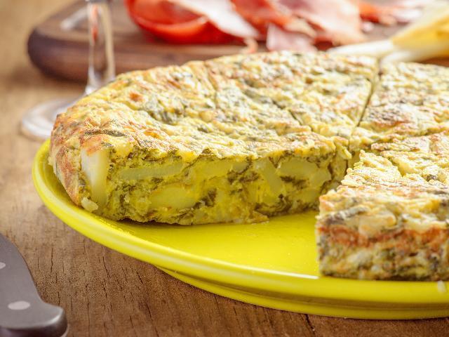 Jak Zrobic Tortille Z Ziemniakow Przepis Na Hiszpanski Przysmak