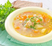 Zupa ryżowa z porem - smaczna i niedroga zupa na codzienny obiad