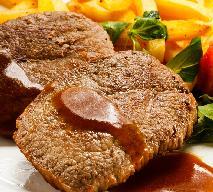 Sznycle w sosie orzechowym - pomysł na schab w aromatycznym sosie z masła orzechowego