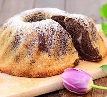 Babka wielkanocna dwukolorowa - przepis na efektowne ciasto na Wielkanoc