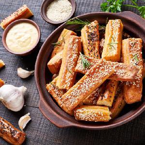 Paluszki serowe z kminkiem - pyszna przekąska lub dodatek do zupy